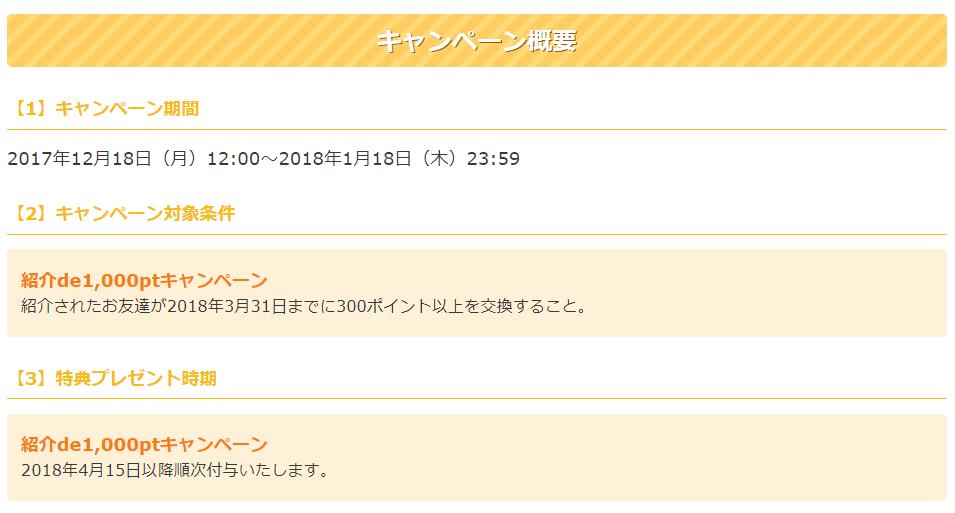 紹介deキャンペーン