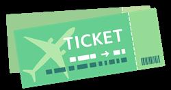 航空チケット