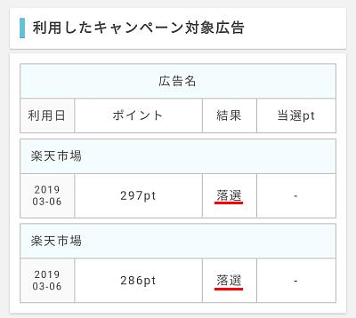 ポイントインカムお買い物ポイントバックキャンペーン